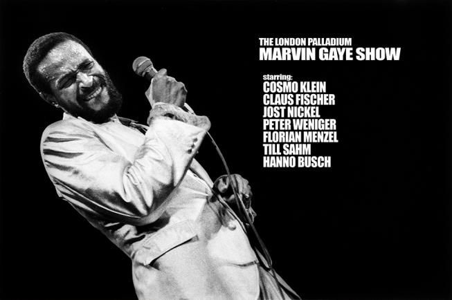 THE LONDON MARVIN GAYE SHOW starring COSMO KLEIN 25.01.2019